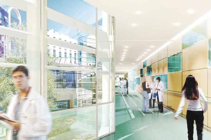 r2b architectes centre hospitalier de b ziers 34 www. Black Bedroom Furniture Sets. Home Design Ideas
