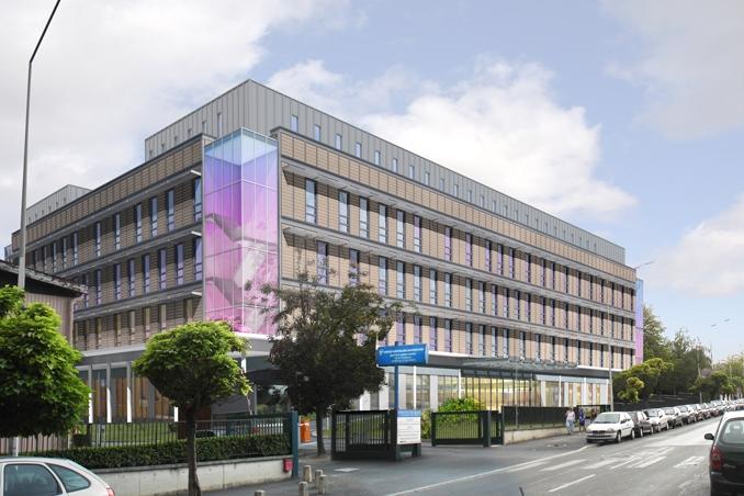 r2b architectes centre hospitalier universitaire de